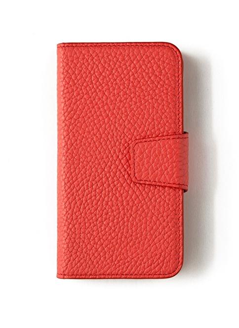 Leather & Paper Samsung Galaxy S7 Deri Telefon Kılıfı Pembe